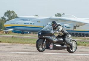 Рекорд швидкості на електричному мотоциклі