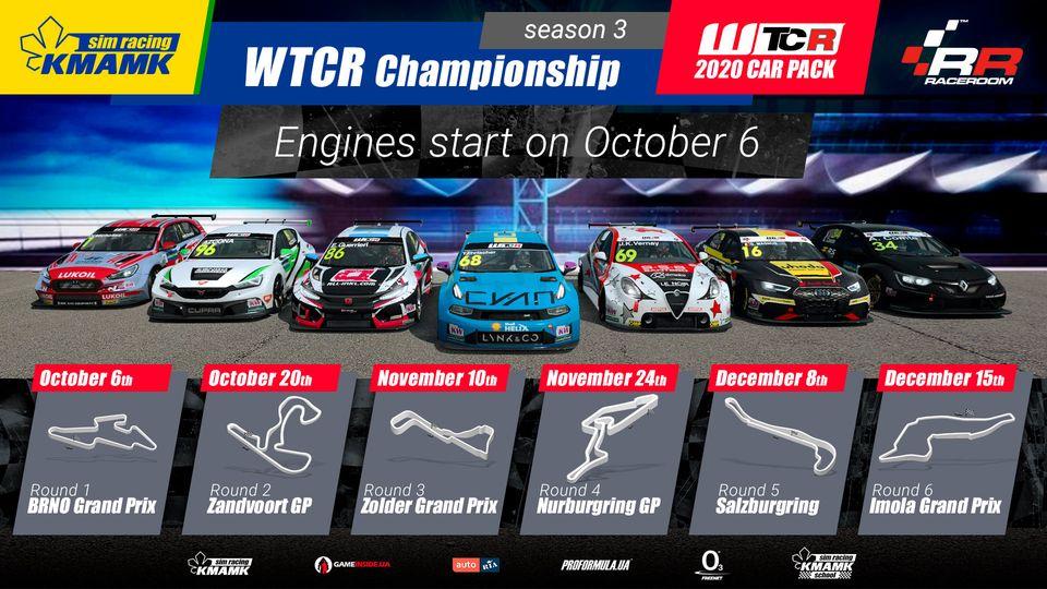 Продовження спортивного сезону. KMAMK WTCR 2020 Championship. Season 3/2021.