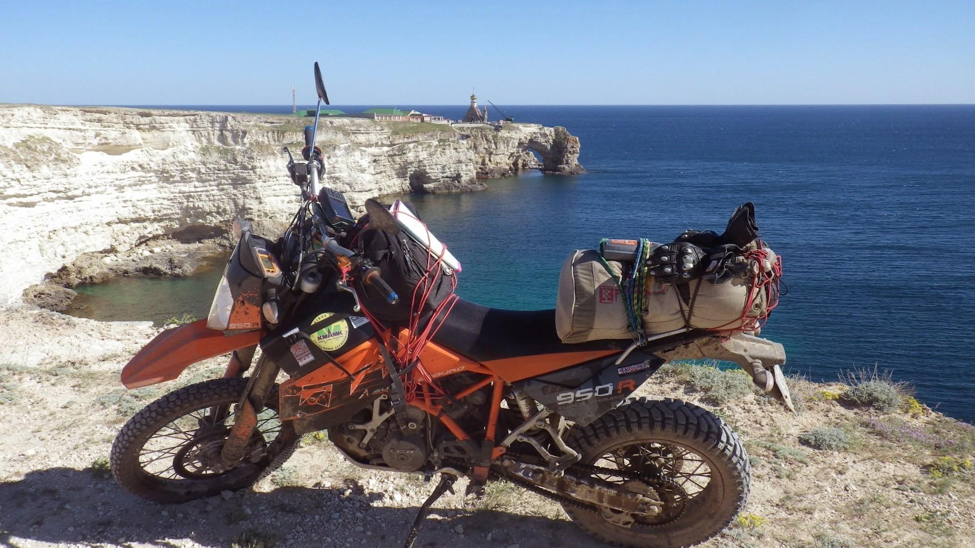Рекорд України «7923 км на мотоциклі за 13 днів вздовж кордонів України»