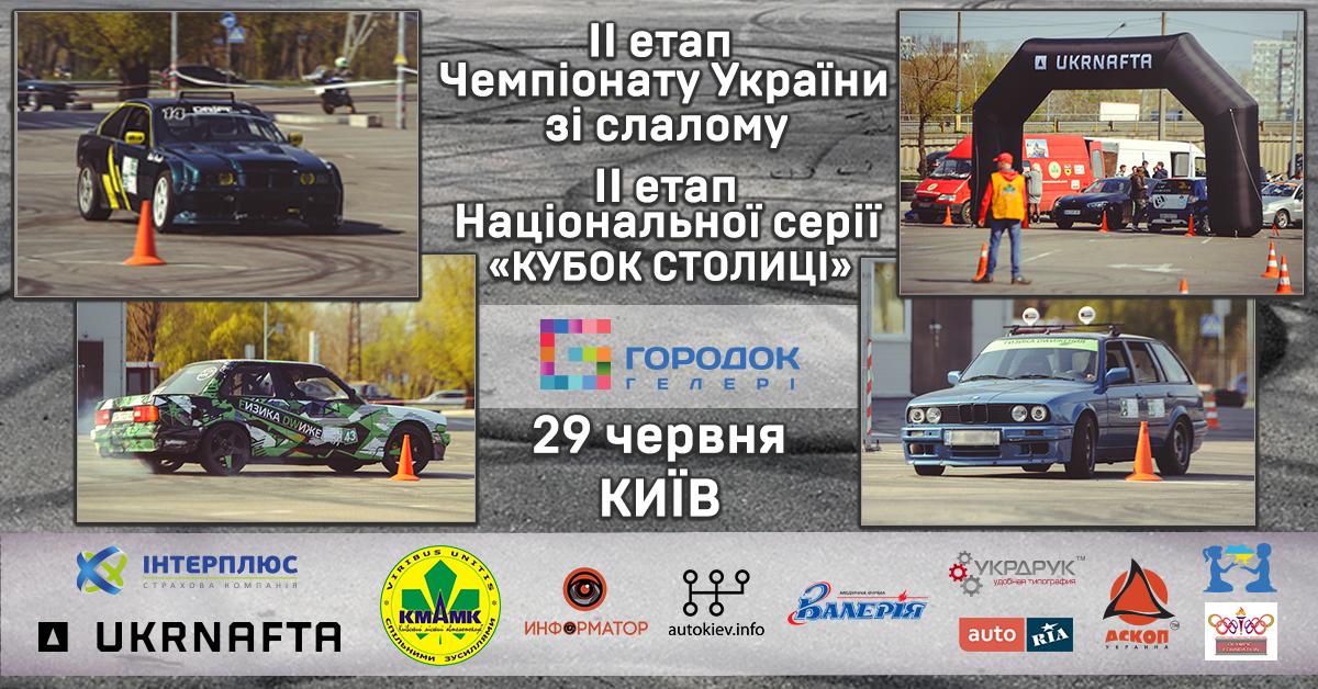 Додаткові регламенти з автомобільного слалому (II етап)